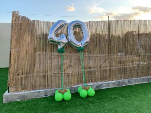 40 anni in villa Thidis
