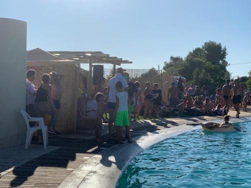 ferragosto pool party presso villa Thidis